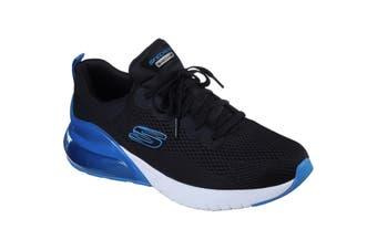 Skechers Mens Air Stratus Maglev Sports Trainers (Black/Blue) (10 UK)