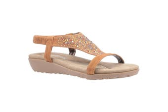 Fleet & Foster Womens/Ladies Nicosia Slingback Sandal (Tan) (3 UK)