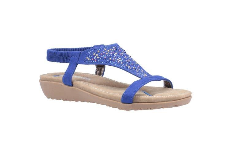Fleet & Foster Womens/Ladies Nicosia Slingback Sandal (Blue) (7 UK)