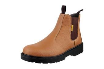 Amblers Steel FS115 Pull-On Dealer Boot / Womens Ladies Boots (Tan) (6 UK)