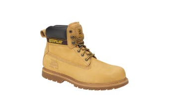 Caterpillar Holton SB Safety Boot / Mens Boots / Boots Safety (Honey) - UTFS923