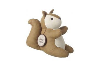 Leatherette Doorstop (Squirrel) (One Size)