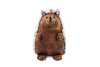 Faux Leather Doorstop (Hedgehog) (One Size)