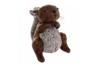 Faux Leather Doorstop (Squirrel) (One Size)