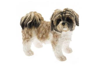Shih Tzu Dog Figurine (Brown) (One Size)