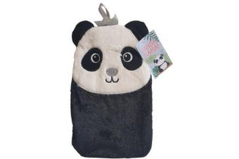 Pandarama Hot Water Bottle With Cover (Black/White) (One Size)