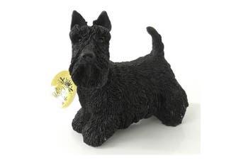 Scottish Terrier Dog Figurine (Black) (10cm)