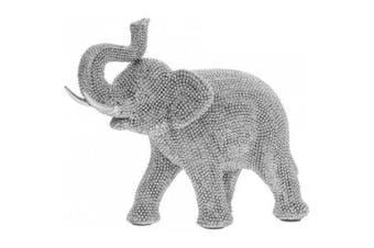 Silver Art Elephant (Silver) (One Size)