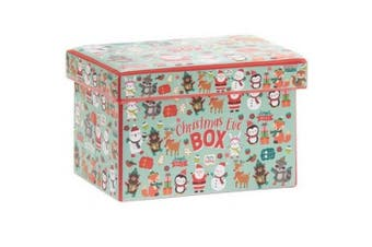 Character Print Christmas Eve Box (Multicoloured) (One Size)