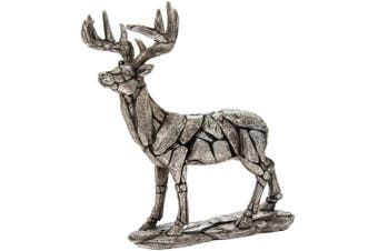 Natural World Standing Deer Ornament (Grey) (One Size)