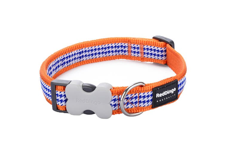 Red Dingo Fang It Dog Collar (Orange) (S)