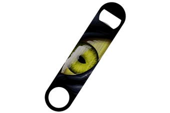Grindstore Reptilian Eye Bar Blade Bottle Opener (Multicoloured) (One Size)