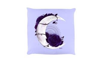Requiem Collective Lunar Mandala Cushion (Lilac) (One Size)