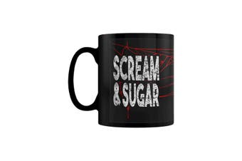 Grindstore Scream & Sugar Mug (Black) (One Size)