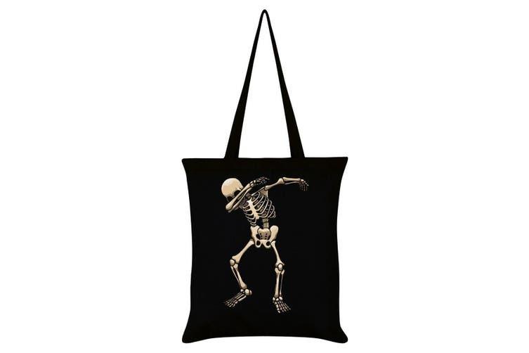 Grindstore Skeleton Dab Tote Bag (Black) (One Size)