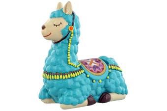 Grindstore Sleepy Llama Money Box (Turquoise) (One Size)