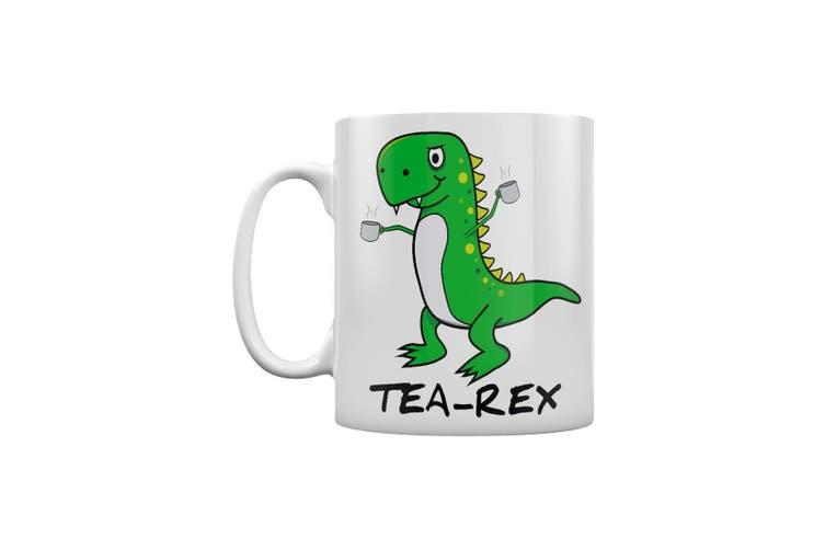 Grindstore Tea-Rex Mug (White) (One Size)