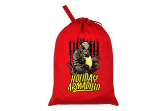Grindstore The Holiday Armadillo Santa Sack (Red) (One Size)