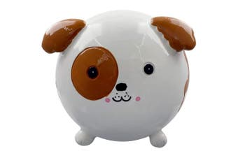 Grindstore Patch The Puppy Money Box (White) (One Size)