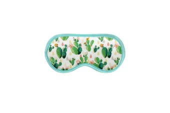 Grindstore Prickly Pear Cacti Eye Mask (Turquoise) (One Size)