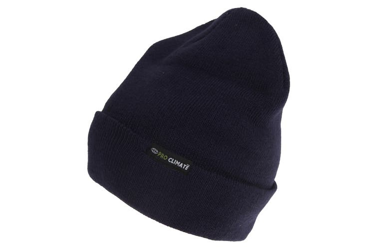 3M Thinsulate Adults Pro Climate Beanie (Navy) (One Size)