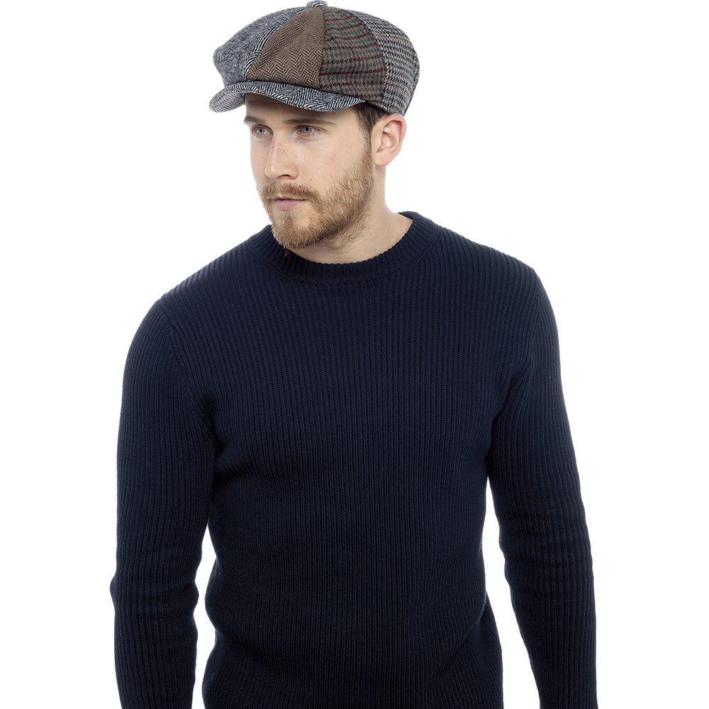 Dents Ladies Plain Baker Boy Hat Cap Lined Quilted Satin Women/'s 3-5150