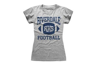 Riverdale Womens/Ladies Football T-Shirt (Heather Grey) - UTHE309
