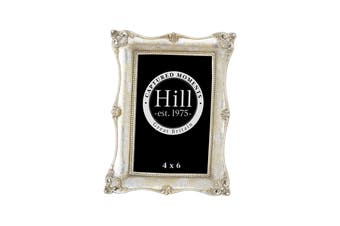 Hill Interiors Antique Metallic Silver Decorative Photo Frame (Silver) (5x7)