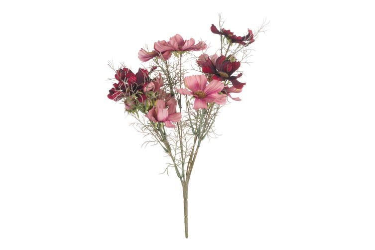 Hill Interiors Artificial Cosmos Single Stem (Pink) (One Size)