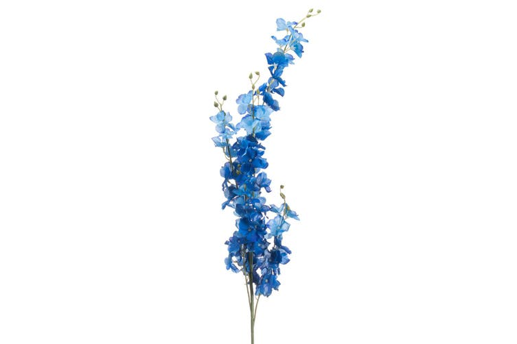 Hill Interiors Artificial Delphinium Flowers (Blue) (One Size)