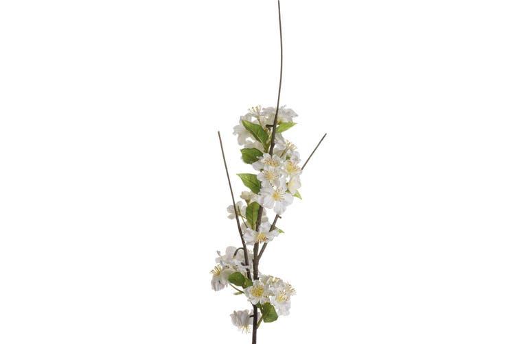 Hill Interiors Artificial Blossom (White) (One Size)