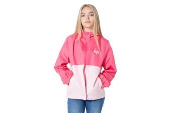 Hype Childrens/Kids Panel Script Running Jacket (Pink) - UTHY1116
