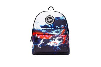 Hype Unisex Lava Mountain Backpack (Multicoloured) (One Size)