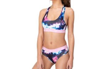 Hype Womens/Ladies Space Underwear Set (Blue/Pink) - UTHY580