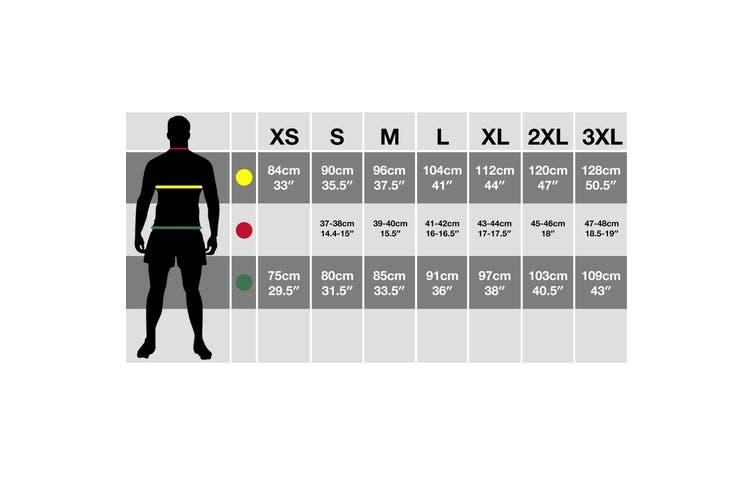 ID Unisex Core Full Zip Hoodie (Navy) (M)