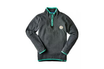 Joe Browns Mens One For The Weekend Zip Up Funnel Neck Sweatshirt (Grey) - UTJB123