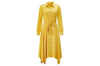Joe Browns Womens/Ladies Classic Button Through Shirt Dress (Mustard) - UTJB130