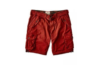 Joe Browns Mens Hit The Action Shorts (Brick Red) - UTJB282