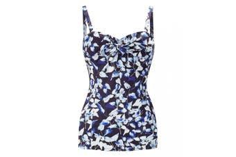 Joe Browns Womens/Ladies Purely Vintage Patterned Top (Blue) - UTJB396