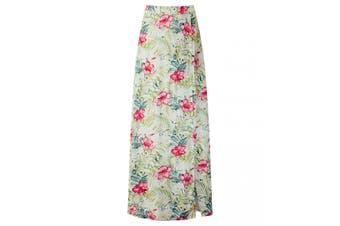 Joe Browns Womens/Ladies Gorgeous Printed Skirt (Cream Multicoloured) - UTJB503