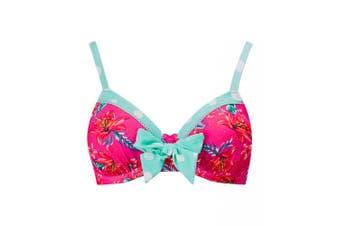 Joe Browns Womens/Ladies Patterned Mix and Match Bikini Top (Multicoloured) - UTJB563
