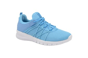 Lonsdale Womens/Ladies Epic Trainers (Light Blue/Grey) (7 UK)