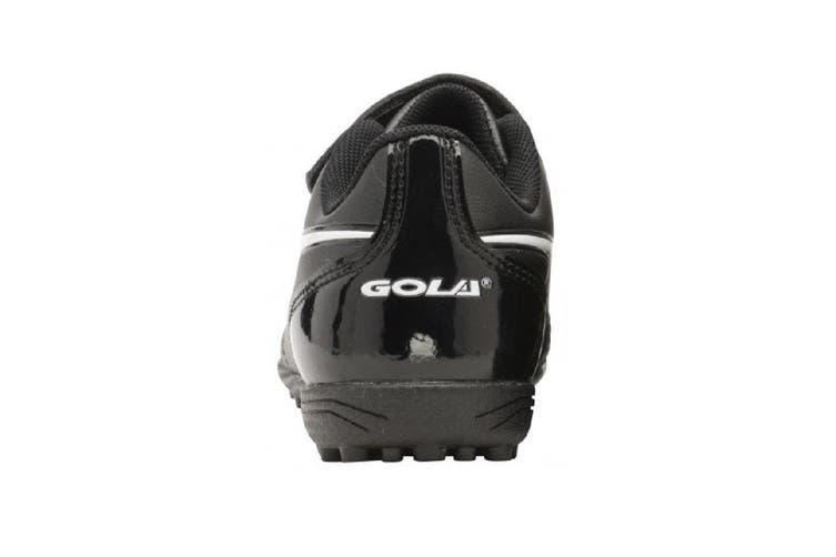 Gola Sport Childrens Boys Rey VX Touch Fastening Astro Turf Trainers (Black/White) (7 Child UK)