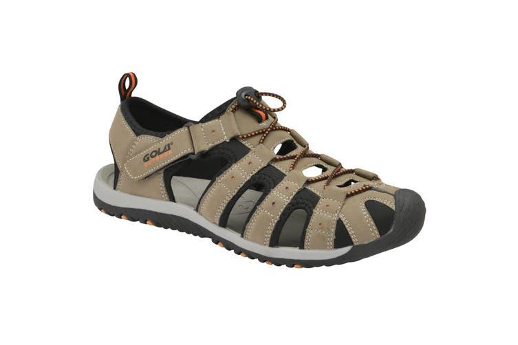 Gola Childrens/Kids Shingle 3 Hiking Sandal (Taupe/Black/Burnt Orange) (6 UK)