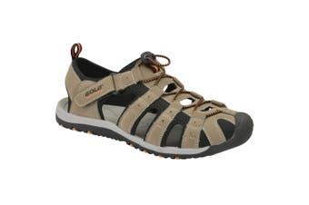 Gola Childrens/Kids Shingle 3 Hiking Sandal (Taupe/Black/Burnt Orange) (4 UK)