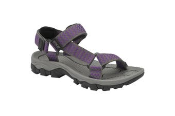 Gola Womens/Ladies Blaze Hiking Sandal (Purple/Grey) (8 UK)