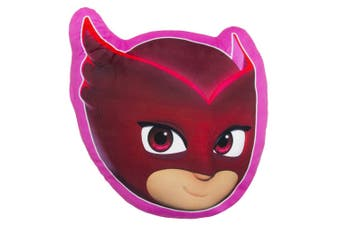 PJ Masks Childrens/Kids Owlette Plush Pillow (Pink) (One Size)