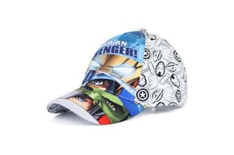 Avengers Childrens/Kids I Am An Avenger Baseball Cap (White) - UTKC640