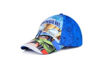 Avengers Childrens/Kids I Am An Avenger Baseball Cap (Blue) - UTKC640