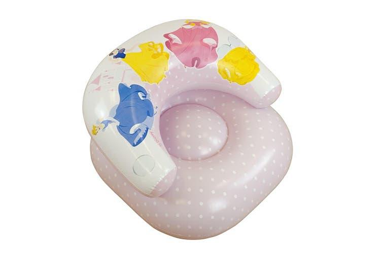 Girls Kids Disney Princess Inflatable Chair (Pink) (See Description)